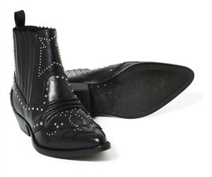 Roseanna Tucson Studded Boots Black EU37 NEW, an item from the 'Fall Footwear' hand-picked list