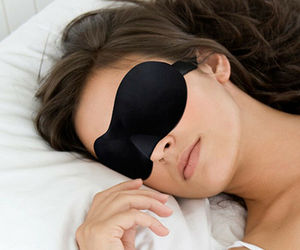 QTY 4 Travel 3D Eye Mask, Sleep Mask Soft Padded Shade Cover, an item from the 'Travel Must-Haves' hand-picked list