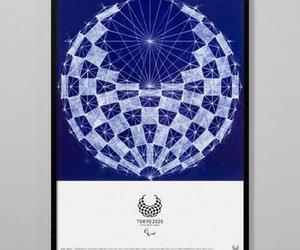 Framed (Tokyo 2020 Paralympic Official Art Poster) Asao Tokolo, an item from the 'Paralympic Souvenirs' hand-picked list