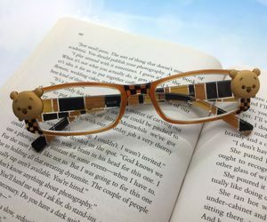 Winnie the Pooh Reading Glasses +1.75, Handpainted Checkerboard Pattern, an item from the 'Vision with Style' hand-picked list