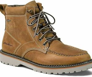 Eddie Bauer Severson Moc-Toe BROWN WHEAT MENS 5.5 14 WOMENS 7 WINTER SNOW BOOTS , an item from the 'Fall Footwear' hand-picked list