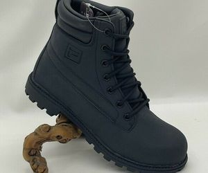 Men's FILA Watersedge WP Black Hiking Boots, an item from the 'Fall Footwear' hand-picked list