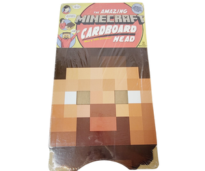 """The Amazing Minecraft Cardboard Head 12"""" Mojang Jinx Halloween Costume, an item from the 'Costume Accessories' hand-picked list"""