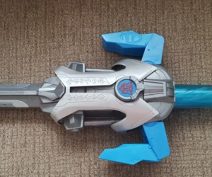 Transformers Dark of the Moon Energon Shock Sword Autobot Hasbro 2010 Halloween, an item from the 'Costume Accessories' hand-picked list