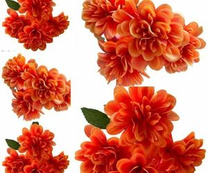 Marigold Bush X5 Day of the Dead Dia De Los Muertos  Ofrenda Orange Flowers Faux, an item from the 'Dia de los Muertos ' hand-picked list