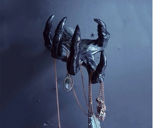 The Witch's' Hand Wall Hanging,Horror Ornaments,Halloween decor,Art Witchs' Hand, an item from the 'Spooky Home Decor' hand-picked list