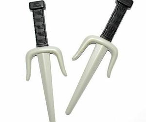 10 Inch Ninja Knife Battle Large Toy Weapon Halloween Costume Accessory, an item from the 'Costume Accessories' hand-picked list