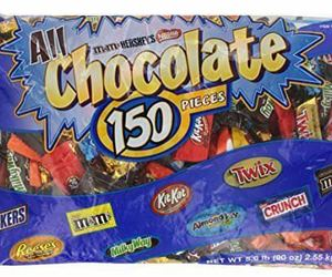 Nestle Hershey Chocolate Assortments Mini Individually Wrapped 150 Pieces 90 Oz., an item from the 'Halloween Treats' hand-picked list