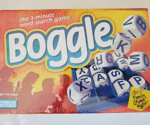 Vintage 1999 Boggle 3 Minute Word Search Family Game Parker Bros NEW SEALED, an item from the 'Make it a Classic Family Game Night ' hand-picked list
