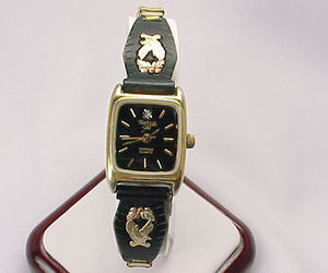BLACK HILLS GOLD Eagle and Leaf Diamond Quartz Wristwatch - FREE SHIPPING, an item from the 'Time to Think of Those New Year Resolutions' hand-picked list