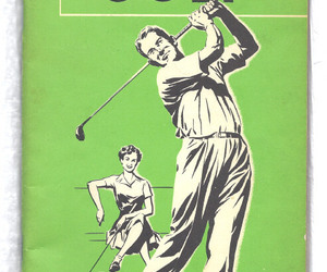 Golf Booklet Vintage 1958 Booklet HOW TO IMPROVE YOUR  GOLF, an item from the 'Golf is my thing' hand-picked list