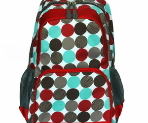 [Colorful Dots] Fashion Multipurpose Backpack Polyester, an item from the 'It's in the Bag - Backpacks' hand-picked list