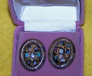Cufflinks Jade or Rhinestone , an item from the 'Unique Handmade & Handcrafted Jewelry' hand-picked list