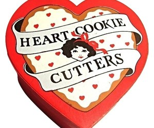 Vintage-Vandor 1981 Heart Shaped metal cookie cutters--Designed by Pelzman, an item from the 'Holiday Cookies & Cooking' hand-picked list