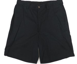 Haggar Dark Navy Blue Flat Front Cotton Casual Dress Mens Shorts 32 Gently Used, an item from the 'Summer Menswear' hand-picked list