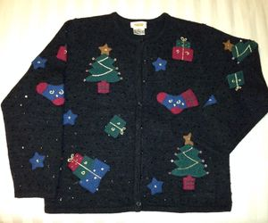 Ugly Christmas sweater, an item from the 'Ugly Sweater Party' hand-picked list