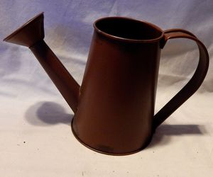 """Harvest Decor Celebrate It Metal Watering Can 5 1/2"""" tall x 9"""" wide 3"""" Top 47Y, an item from the 'Fall Table Decor' hand-picked list"""