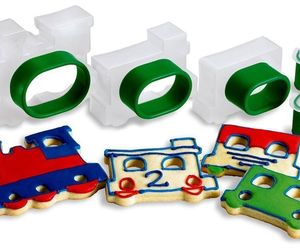 Cuisipro Train Set Snap-Fit 5-Piece Cookie Cutter Set, an item from the 'Holiday Cookies & Cooking' hand-picked list