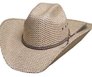 Bullhide Justin Moore Point At You 50X Sensu Straw Cowboy Truman Crown Natural, an item from the 'The Kit and Caboodle ' hand-picked list