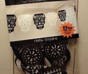 Day of the Dead Sugar Skulls 12 ft. long Paper Banner, an item from the 'Dia de los Muertos ' hand-picked list