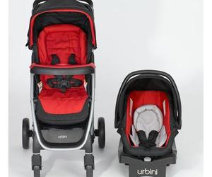 Baby Stroller Car Seat Full Travel System Infant Carriage Red Seat Buggy Kids, an item from the 'Community Picks: Shower Me With Love!' hand-picked list