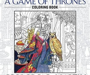 The Official A Game of Thrones Coloring Book: An Adult Coloring Book (A Song of , an item from the 'Color My World...' hand-picked list