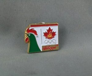 1998 Nagano Winter Olympic Games Pin - Team Canada - Kellog's Sponsor Special K, an item from the 'Community Picks: Olympics in Japan' hand-picked list