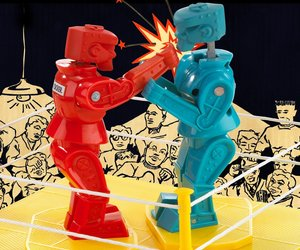 Rock 'Em Sock 'Em ROBOTS Game ROCK'EM SOCK'EM ROBOTS CLASSIC RETRO TOY RED BLUE, an item from the 'Community Picks: Game On...' hand-picked list