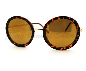 Vintage Fashion Sunglasses Super Oversized Round Circle Reflective Lens, an item from the 'Stylish Sunnies' hand-picked list