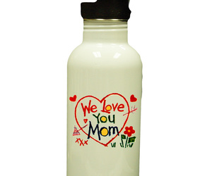 Personalized Custom Photo Mother's Day Water Bottle #2 Gift, an item from the 'Mugs for Moms' hand-picked list