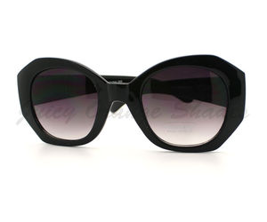 女性s Sunglasses Oversized Unique Diamond Cut Frame High Fashion Eyewear, an item from the 'Stylish Sunnies' hand-picked list