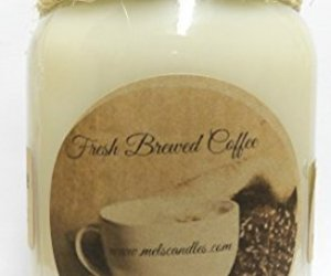 Fresh Ground Coffee -16oz Country Jar All Natural Hand Made Soy Candle, an item from the 'No Place Like Home' hand-picked list