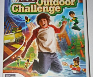 Nintendo Wii - ACTIVE LIFE Outdoor Challenge (Complete with Manual), an item from the 'It's all Fun and Games!!' hand-picked list