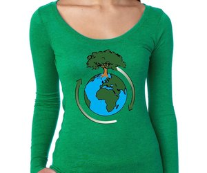 Women's Shirt Earth Day Save The Planet Shirt, an item from the 'Community Picks: Earth Day..Recycle, Reuse, Reduce' hand-picked list