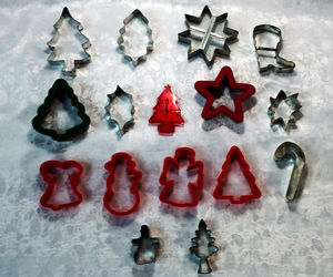 16-Piece Assorted Christmas Cookie Cutter Set, an item from the 'Holiday Cookies & Cooking' hand-picked list