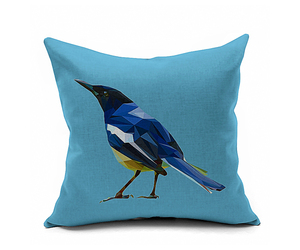 Cotton Flax Pillow Cushion Cover Flower Bird   HN007, an item from the 'Community Picks: Spring has sprung' hand-picked list