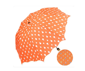 umbrella Color Changing Water Activated Windproof Princess Folding Umbrella, an item from the 'Community Picks: April Showers...' hand-picked list