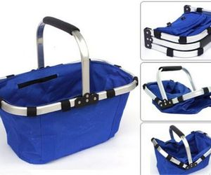 Colourful Market Portable Picnic Basket  Reusable Shopping Picnic Basket , an item from the ' Pic·nick·ing' hand-picked list