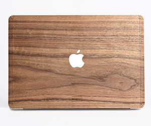 Walnut Wood Macbook Case - Macbook Cover Skin Sticker for Air Pro 11 13 15, an item from the 'Safe For Work' hand-picked list