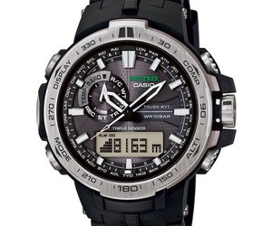Watch Casio Pro Trek Prw-6000-1er Mens Black, an item from the 'Rock Around the Clock' hand-picked list