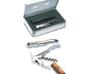 Pulltex Classic Silver Corkscrew Set, an item from the 'Happy Hour at Home' hand-picked list