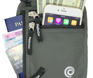Travel Wallet and Passport Holder Neck Pouch -RFID Blocking Neck Wallet , an item from the 'Travel Must-Haves' hand-picked list