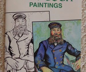 Dover Art Coloring Book: Color Your Own Van Gogh Paintings Marty Noble (#1336), an item from the 'Color My World...' hand-picked list