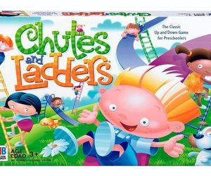Chutes and Ladders Board Game Preschool Edition New Sealed Updated New colors, an item from the 'Games People Play' hand-picked list