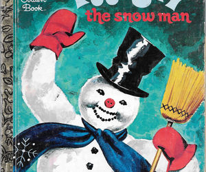 FROSTY THE SNOWMAN (1978) Little Golden Book EXCELLENT!, an item from the 'Santas & Snowmen' hand-picked list