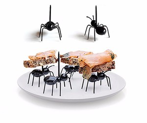 Cute Mini Ant Fruit Fork Eco Friendly Plastic Easy Decoration Kitchen Bar Kids , an item from the 'Friends in the Kitchen' hand-picked list
