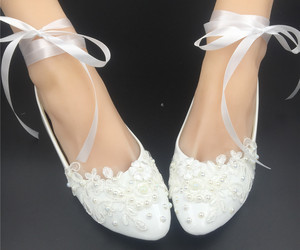 off white bridal shoes,comfortable flat bridal shoes ivory lace flat shoes, an item from the 'Life is short. Buy the shoes.' hand-picked list