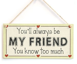 Meijiafei You'll always be my friend you know too much - Friendship Gift Love He, an item from the 'Tokens of Friendship' hand-picked list
