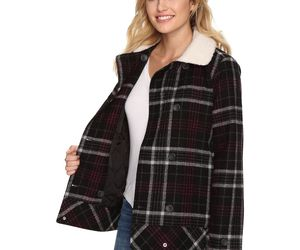 New Vans Womens Spirit Animal Double Breasted Wool Blend Casual Jacket XS $130, an item from the 'Mad for Plaid' hand-picked list