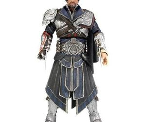 NECA Assassin's Creed Brotherhood Ezio Unhooded Action Figure, an item from the 'Time For A Change...' hand-picked list